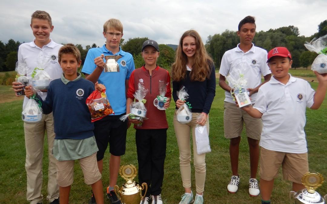 Mit der Jugendkanne stehen die Sieger des Prince George Junior Race fest – Rekorde überall!