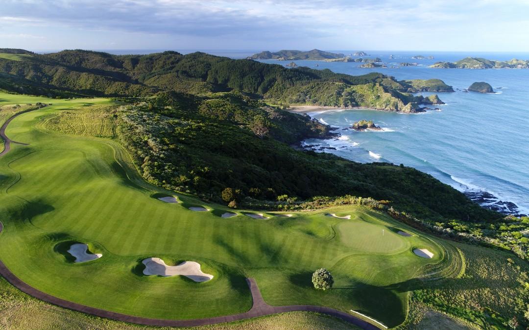 Entdecken Sie Neuseelands schönste ( Golf- ) Plätze